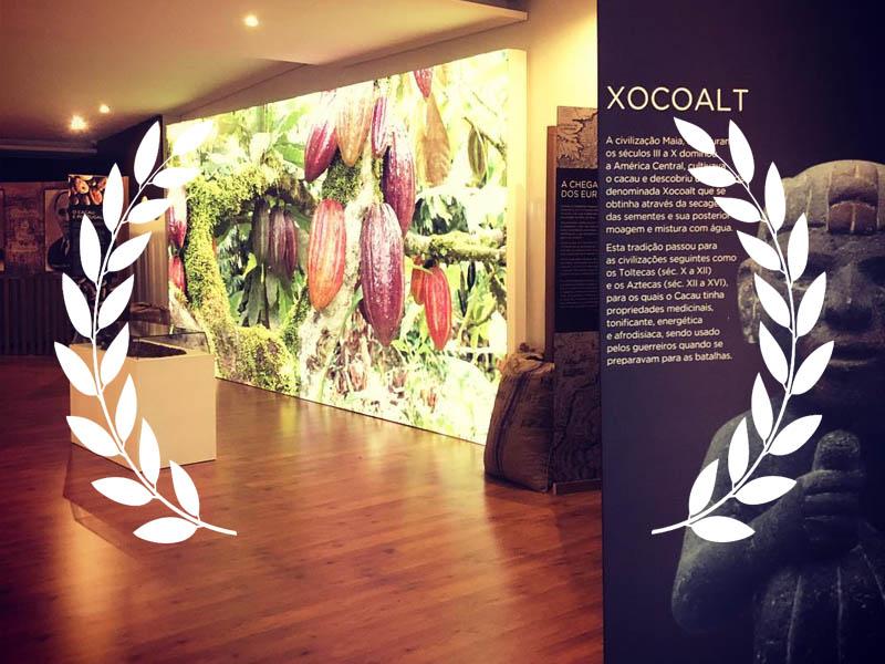 Menção Honrosa para o Museu dos Chocolates Avianense, na categoria de melhor aplicação multimédianos prémios APOM