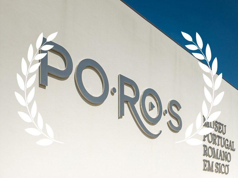 Museu PO.RO.S – Portugal Romano em Sicó, em Condeixa, foi o vencedor na Categoria de Melhor Aplicação de Gestão e Multimédia nos Prémios da Associação Portuguesa de Museologia 2018